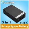 Dry UPS li-ion battery for cctv 12V 6500mAh/9V 8500mAh/5V15000mAh