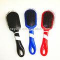 Une variété de l'injection plastique brosse à cheveux, promotion brosse à cheveux