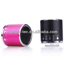 Hot sale tf micro sd music player fm radio usb mini speaker with compatible USB/FM