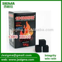 cubic bamboo charcoal shisha pen