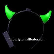LNH-1210-1 LED devil horns headband