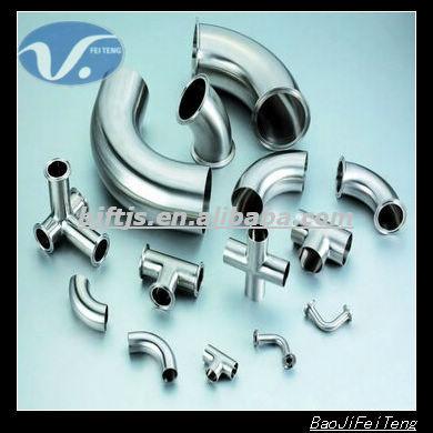 pure titanium astm pipe fittings titanium bend