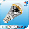 AC85-265V 3W 5W 7W 450LM Warm White LED bulb light dimmable fancy light bulbs b22