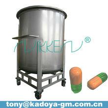 1000L stainless steel mobile storage medicine tank
