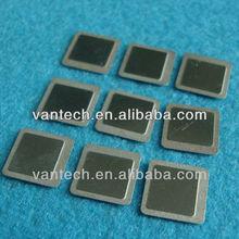 half etching metal item convex concave indentation SMD lids