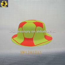 2014 Brazil World Cup Fans PVC Hat for Festival