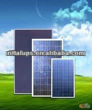 18V 100W mono or poly solar panel for solar energy system