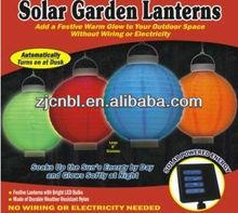2012 popular LED solar lantern