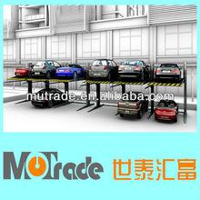 multilevel car garage for business parking lot
