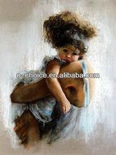 Nue m-72 madre e figlio pittura a olio decorazione