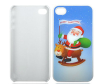 2013 Funny Christmas Series 3D for iphone 4 / 4S cover