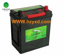 lead acid MF storage car accumulator 12V, 36Ah
