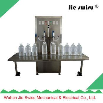 PET bottle and glass bottle vaporizer pen oil filling machine