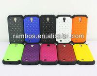 Combo Soft Multicolor Silicon Back Diamond Cover for Samsung Galaxy S4 i9500