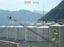 1000 ton biodiesel storage tanks