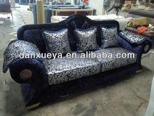 European new Classic fabric sofa 1+chaise+3 3018B#