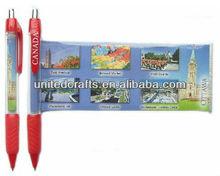 Advertising Plastic Banner Ballpoint Pen Scroll Pen