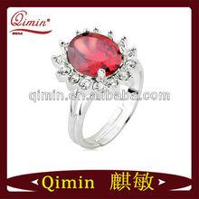 2013 new ruby diamond wedding rings platinum