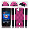 for Sony ericsson xperia ray ST18i 2 in 1 cellphone case