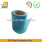 Low price China origin PET blue film
