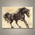 Atacado Handmade cavalo da lona pintura a óleo