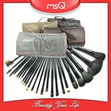 MSQ 24pcs 2012 best seller makeup brushes set