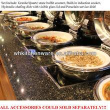 Induction cooker,porcelain pan, chafer/ unique design restaurants