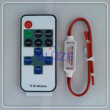 Mini RF Remote Single Color LED Controller for LED strip light