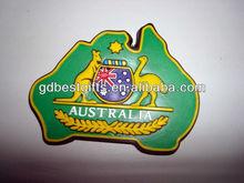 manufacturer custom australia souvenir soft pvc fridge magnet