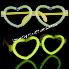 GEG-028 Heart shape glow eye glasses for party