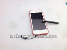 Snow white crystal/Rhinestone ballpoint stylus pen capacitance touch pen