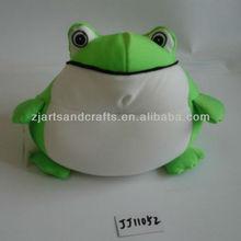 Spandex/microbeads soft toy frog/animal