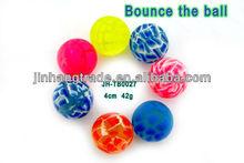 Flowers of crack bouncing ball bouncy balls