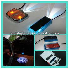 No drill led car projector logo light car door ghost shadow light
