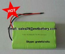 nimh rechargeable battery pack 4.8v SC 10500mah
