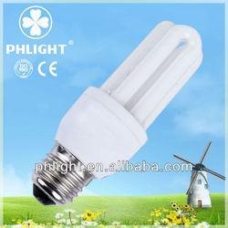 2013 new tri-phosphor 3u energy light saving bulbs