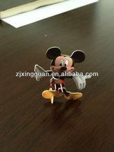 3d plástico cartão puzzle mickey mouse