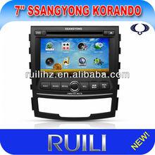Ssangyong Korando / Actyon nuevo coche sistema de navegación Gps