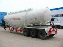 40-70cubic 3 axle dry bulk cement carrier semi trailer