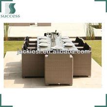 T102 rattan outdoor bistro chair modern dinning