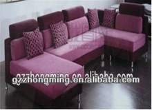 Hot Pink Modern Furniture Fabric Office Sofa Home Office Furniture F-007