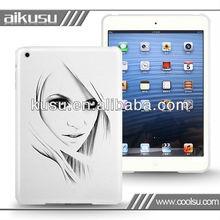 New design slim pc case for ipad mini
