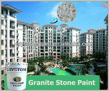 Granite paint Exterior protective coating Rock paint Spray granite coating building finishes
