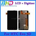 para htc evo 3d lcd digitalizador de precio de venta conjunto