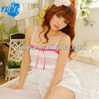 Japanese Women Sexy Lingerie,New Fashion Summer Cotton Pajama Sleepwear Set