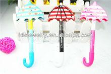 PRC012 Plastic red umbrella korean fashion design korean pens