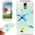 Starfish Pattern Horizontal Flip Leather Case for Samsung Galaxy S IV / i9500