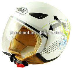 YOHE ABS ECE half face helmet 858