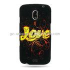 Design Faceplate Hard Case For Samsung Galaxy Nexus LTE I515 Phone Golden Love