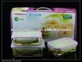 Fôrma de assar/resistente ao calor/pirex/retangular/silicone/quadrado de vidro prato de armazenamento com tampa
